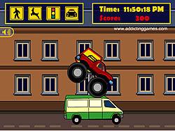 Jogar jogo grátis Monster Truck Curfew