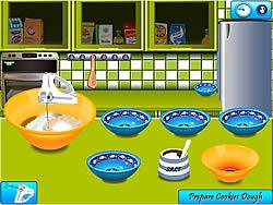 Играть бесплатно в игру Peanut Butter Cookies