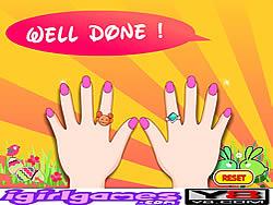 Играть бесплатно в игру Fantastic Nail Art