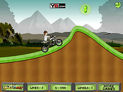 Ben 10 Moto Champ oyunu