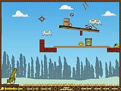 Играть бесплатно в игру Roly-Poly Cannon