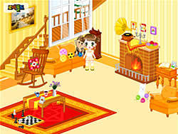 Kid's Living Room Decor na laro
