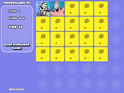 Spongebob Memory Game game