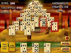 Gioca gratuitamente a Pyramid Solitaire Mummy's Curse