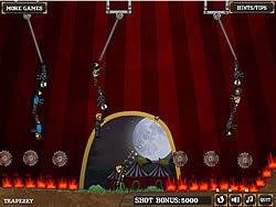 เล่นเกมฟรี Flaming Zombooka 3