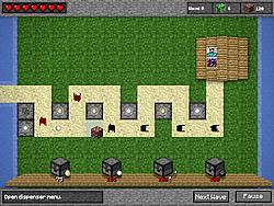 Minecraft Tower Defense na laro