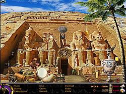 Jogar jogo grátis Egypt Hidden Objects