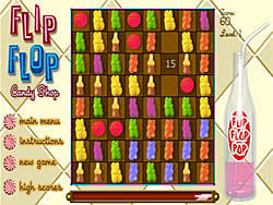 Permainan Flip Flop Candy Shop