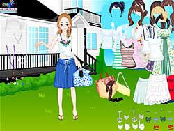 Dress Up Livia game