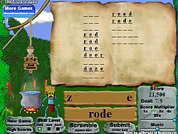 Permainan Alphabet Jungle