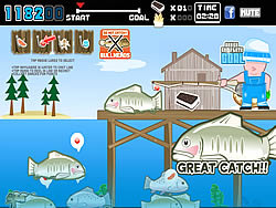 เล่นเกมฟรี Fish and Serve V2