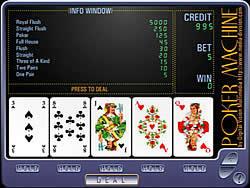 Gioca gratuitamente a Poker Machine