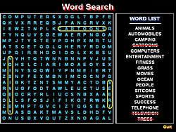 Gioca gratuitamente a Word Search 1