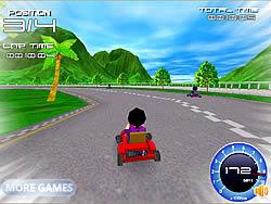 Juega al juego gratis Super Kart 3D