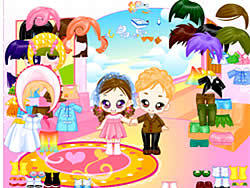Leo and Lea Dressup game