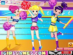 Pretty Cheerful Cheerleaders game