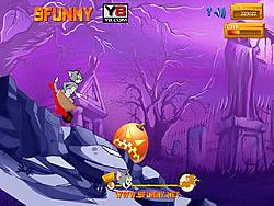 Juega al juego gratis Tom and Jerry Downhill