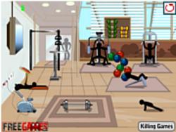 Permainan Stickman Death Gym