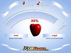 무료 게임 플레이 Love Tester