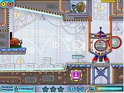 เล่นเกมฟรี Snail Bob 4 Space