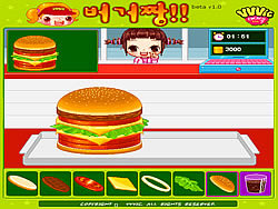 Hamburger Girl game