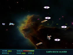 Earth Rock Hunter game