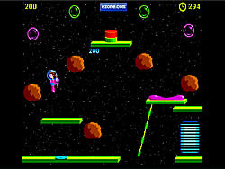 Jazzy Annette Space Cadet game