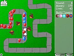 Gioca gratuitamente a Bloons Tower Defense