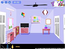 เล่นเกมฟรี All Alone Home Escape