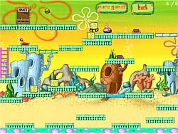 Играть бесплатно в игру SpongeBob And Patrick Escape v1