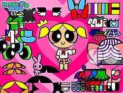 เล่นเกมฟรี Powerpuff Girls Dress Up