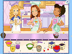 Holly Hobbie: Muffin Maker game