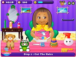 Играть бесплатно в игру Little Daisy HairCare