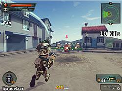 Mini Attack: Urban Combat game