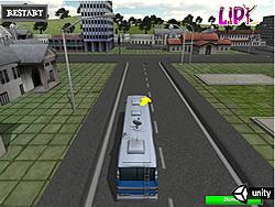 juego School Bus Parking 3D
