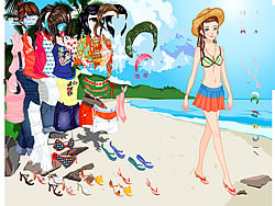 Jogar jogo grátis Thailand Beach Dress up