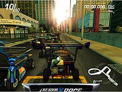 Juega al juego gratis Rexona X Race