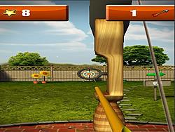 Juega al juego gratis Backyard Archer