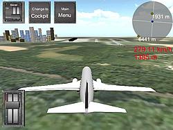 Играть бесплатно в игру Flight Simulator Boeing 737-400 Sim