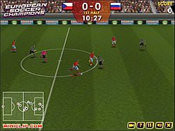 European Soccer Champions game