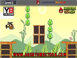 Juega al juego gratis Angry Birds Hero Helicopter