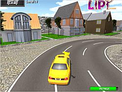 juego Taxi Parking 3d