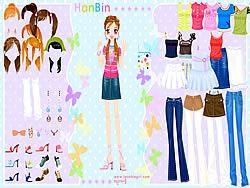 Hanbin Dress up game