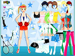 All Sports Dressup game