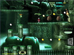 Danny's Venture game