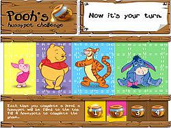 Gioca gratuitamente a Pooh's Hunnypot Challenge