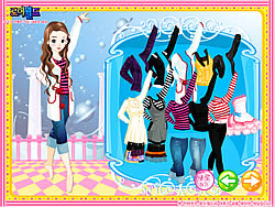 Gioca gratuitamente a Dancing Girl Dressup