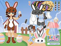Gioca gratuitamente a Dressup Easter Bunny