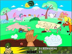 Unicorns and Hand Grenade game