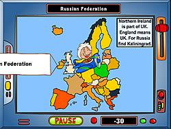 Gioca gratuitamente a Geography Game: Europe